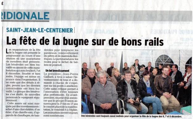 article dans le Dauphiné Libéré